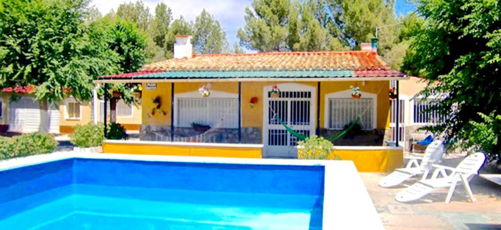 Fantastic Country House in Villena.