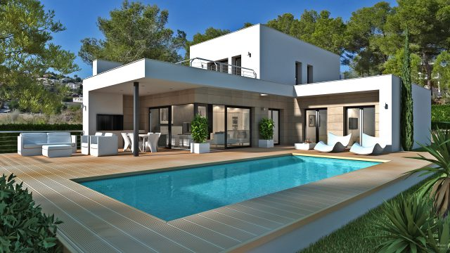 Luxury Villa with Sea Views close to Moraira.