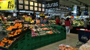 Organic Produce in Spanish Supermarkets